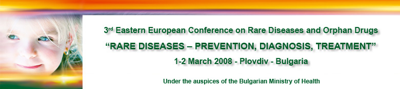 RARE DISEASES � PREVENTION, DIAGNOSIS, TREATMENT